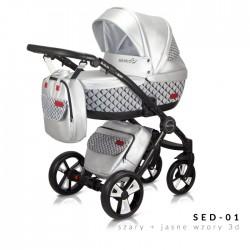 Бебешка количка 2в1 Sesto