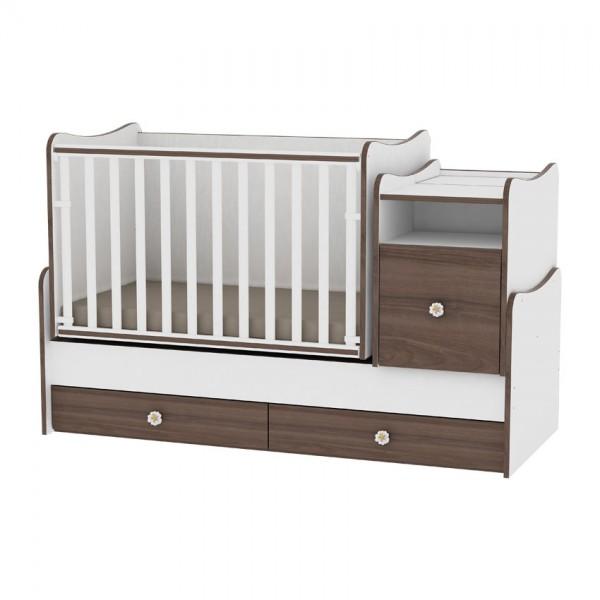 Бебешко легло - люлка TREND PLUS с матрак