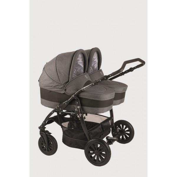 Бебешка количка за близнаци 2в1 Jedo Fyn