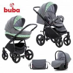 BUBA Solo бебешка количка 3 в 1