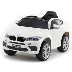 Акумулаторен джип КОЖЕНА СЕДАЛКА BMW X6M - JJ2199