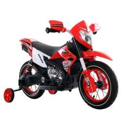 Акумулаторен мотор 6V с помпащи гуми Super Moto