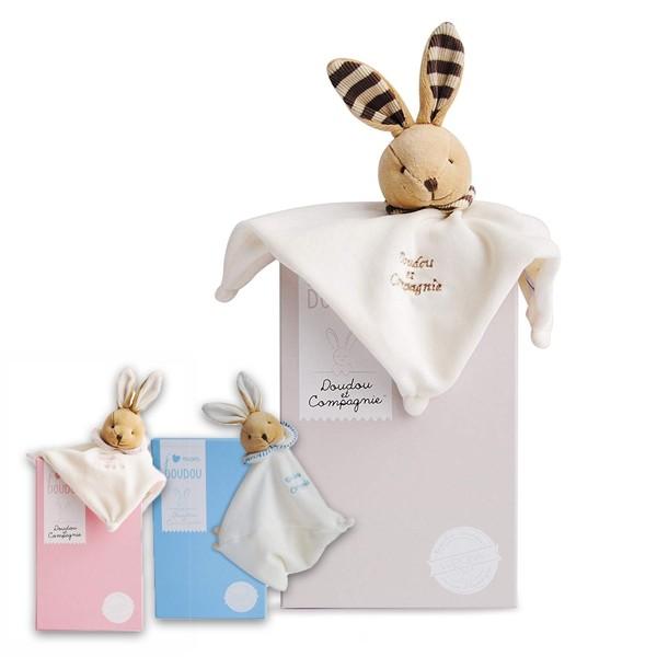 Плюшена играчка Зайци поспаланковци - Doudou et Compagnie