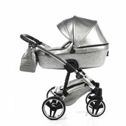 Детска количка Junama Glitter 2в1 Swarovski Edition