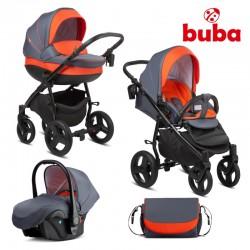 Бебешка количка 3 в 1 Buba Bella