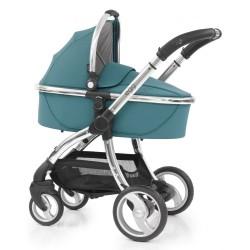 Бебешка количка 2 в 1 с кош за новородено и лятна седалка
