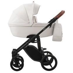 Комбинирана бебешка количка 2в1 LUCA PRO ЕКО КОЖА