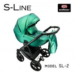 Бебешка количка 3в1 S-line eco