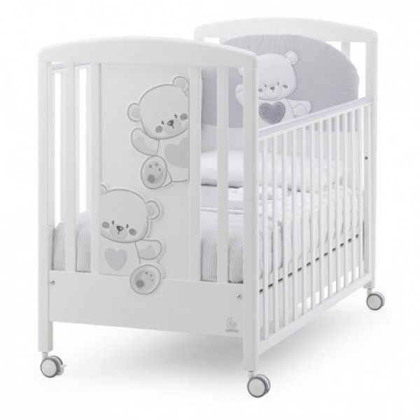 Бебешка кошара Italbaby Jolie сива