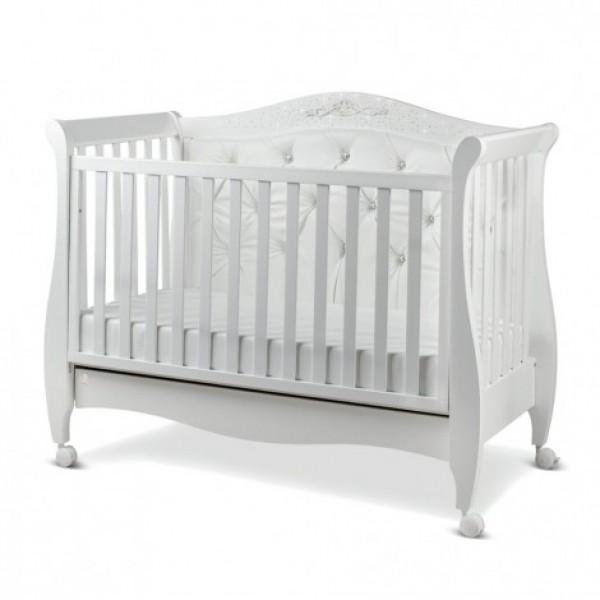 Бебешка кошара Italbaby MAGNIFIQUE LUX бяла