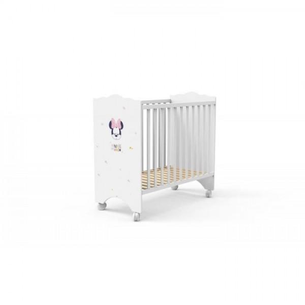 Бебешко легло в бяло с различни картинки