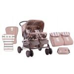 Бебешка количка за близнаци TWIN