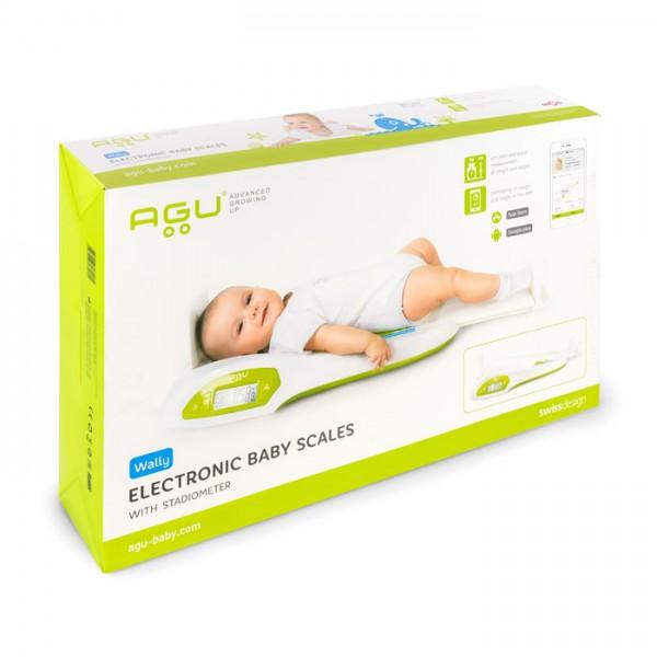 Смарт бебешка везна с ръстомер AGU Wally