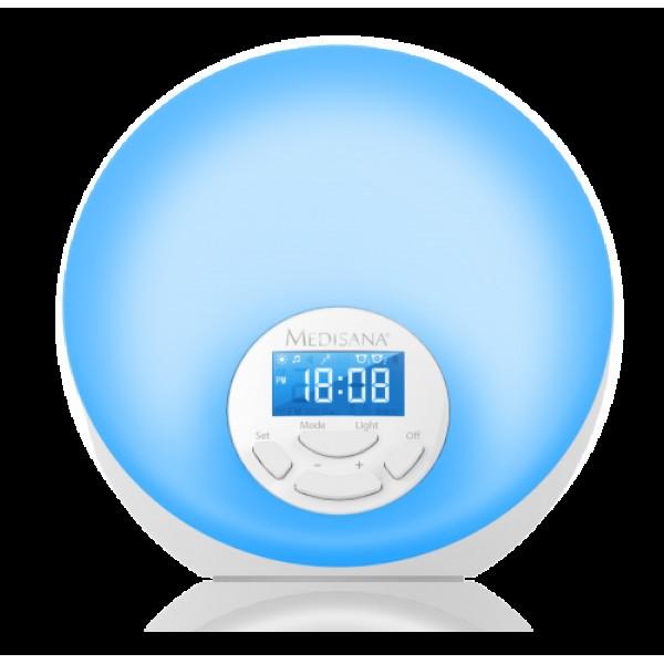 Симулатор на изгрев с радиочасовник Medisana Wake-up Light WL 444, Германия