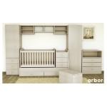 Трансформиращо се детско легло Baby&Junior + матрак