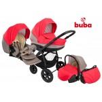Buba City бебешка количка 3 в 1